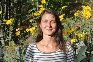 Juliette Queroy, volontaire en service civique de mars 2017 à octobre 2017