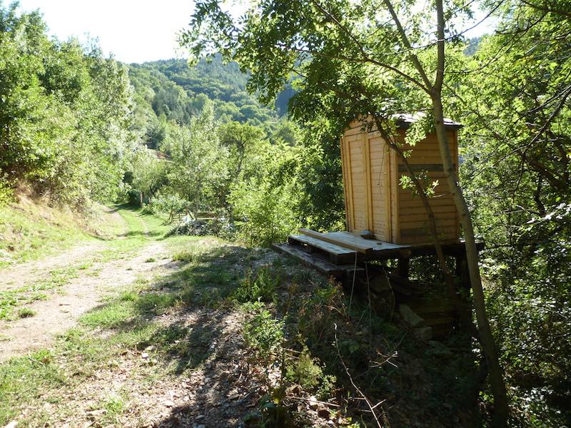 Toilettes sèches aux jardins des Fangouses