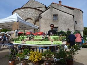 Troc de plants à Prévenchères