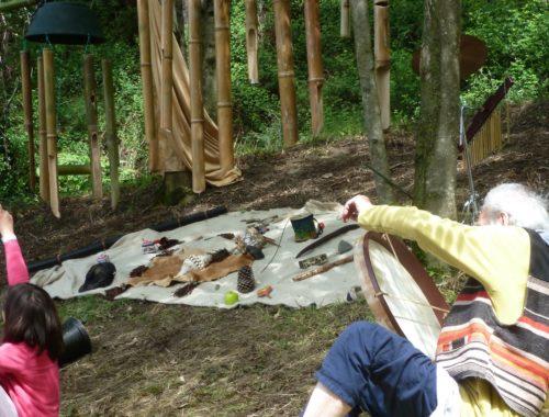 Atelier musical sur bambous